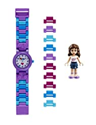 LEGO Friends Olivia Kids Buildable Watch with Link Bracelet a...