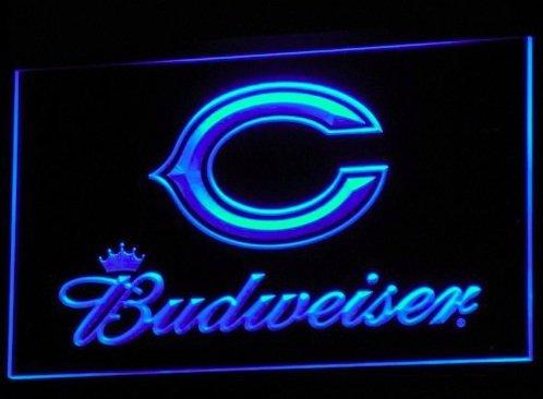 Chicago Bears Budweiser Logo Neon LED Caracteres Publicidad ...