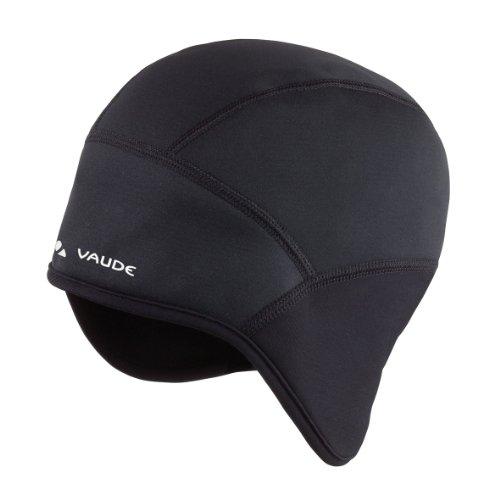 VAUDE Bike Windproof Cap, Black, L, 03223