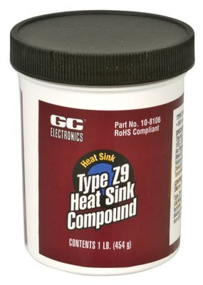 GC ELECTRONICS 10-8106 THERMAL GREASE, CAN, 1LB ()