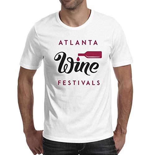 Atlanta Food and Wine Festival Stylish tee Shirts Fashion Short Sleeve Customized t Shirts for Man