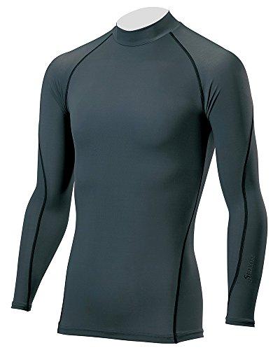 DUNLOP(ダンロップ) SRIXON 長袖ハイネックシャツ メンズ SMA6002 グレー L