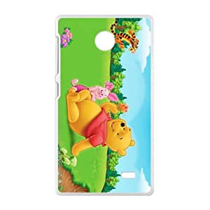 SANLSI Funny Disney Tiger & Pooh Design Best Seller High Quality Phone Case For Nokia X
