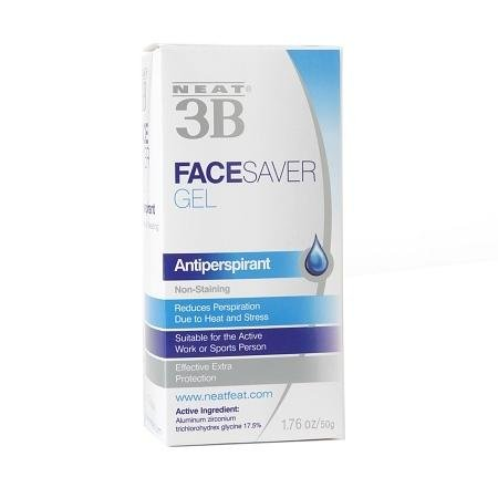 Neat 3B Face Saver Anti-Perspirant Gel - 3PC by
