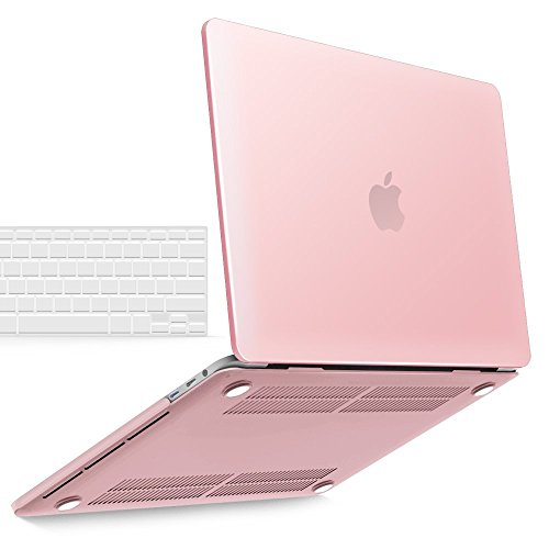 Macbook Pro 15 Case 2017 & 2016 A1707 iBenzer Soft-Touch Series Plastic Hard Case and TPU Keyboard Skin Cover for Macbook Pro 15 inch15