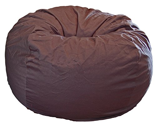 Ahh! Products Gray Organic Cotton Large Bean Bag Chair by Ahh! Products