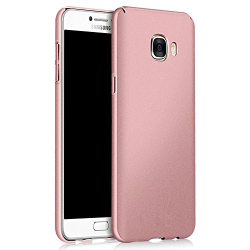 Galaxy S7 Case, Sincase [Non Slip] Ultra Thin Excellent Grip Samsung S7 Bumper [Scratch Resistant] Coated Hard PC Cover Skin for Samsung Galaxy S7, Rose Gold