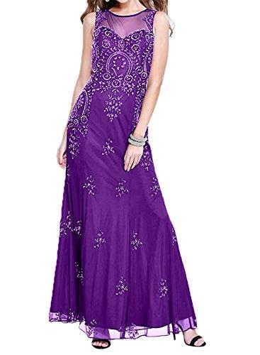 Lila Damen etuikleider Glamour Spitze Abschlussballkleider Brautmutterkleider Abendkleider Charmant Promkleider 8w7dqw1