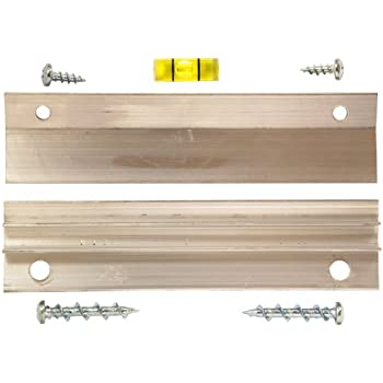OOK 55310 Hangman 60-Pound 7-Piece French Cleat Picture Hanger with Wall Dog Mounting Screws