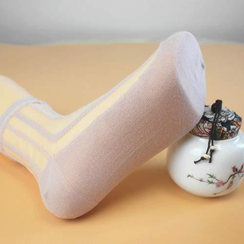 WMING-womens socks 7 Paia Calze Donna Trasparente Calze di Vetro Strisce Verticali Calze Ultra-Sottili Calze di Cotone Antiscivolo in Calze per Le Donne