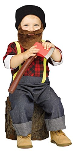 [Lumberjack Woodsman Paul Bunyan Boys Child Costume Large 3T-4T] (Mens Lumberjack Costumes)