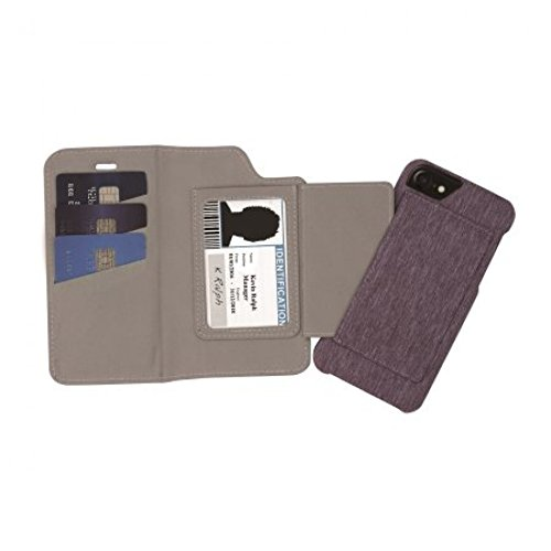 low cost 0180d 38c76 Blackweb BWB17WI029 Folio Card Case For iPhone 6/6s/7/8 Purple