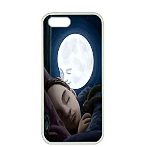 Case For Sam Sung Note 3 Cover ,fashion durable white side design phone case, pc material phone cover ,with Good night Baby.