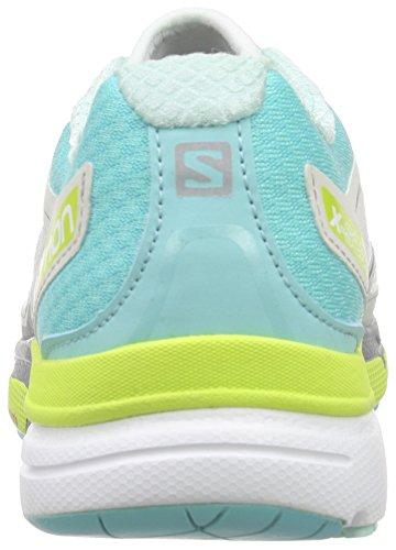 Blue Compétition Gecko 3D X Chaussures Scream Running Salomon de Green Bubble Multicolore Femme White EYPq7R7w