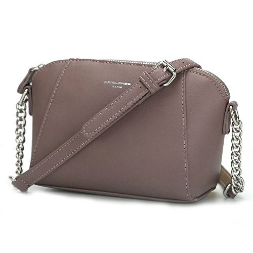 Chain Dark Grey David Strap Bag Purse Crossbody Trapeze Travel Women's Faux Work Small Lady Zipper Pink Girl Jones Shoulder Saddle Fashion Messenger Silver Handbag Leather Rigid Bag City wAq0w4Fn