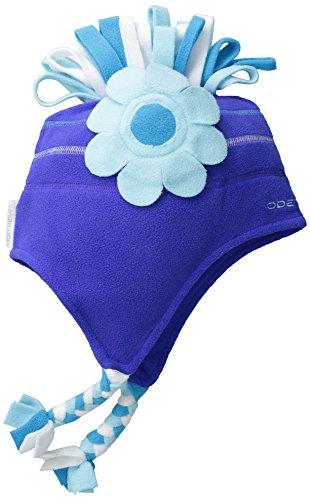 Obermeyer Girls Fleur Fleece Hat, 1-4, Regal Blue