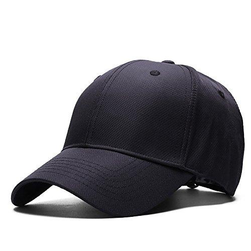 Grande Lavada Drying Dura Visera Béisbol Negra Masculina Sombrero Guyouly Con Tapa Cabeza De Gorra Fast qHnBx1w7P