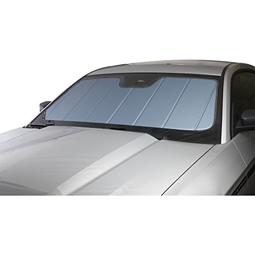 Toyota Tacoma Windshield - Covercraft UV11426BL Blue Metallic UVS 100 Custom Fit Sunscreen for Select Toyota Tacoma Models - Laminate Material, 1 Pack