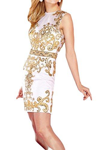 Missdressy - Vestido - para mujer blanco