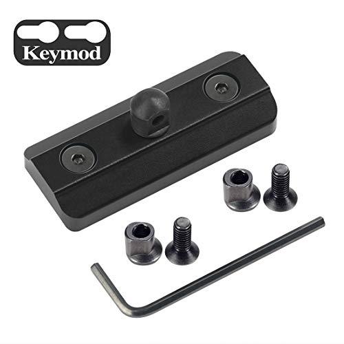 XAegis Keymod Bipod Adapter - Harris Type Bipod Mount for Keymod System - Includes 4 Keymod Screws & 4 Locking Nuts and 1 Wrench (Harris Bipod Mounts)