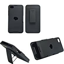 For BlackBerry Z30 Comb Slide Hard Case + Holster Belt Clip Cover Kickstand