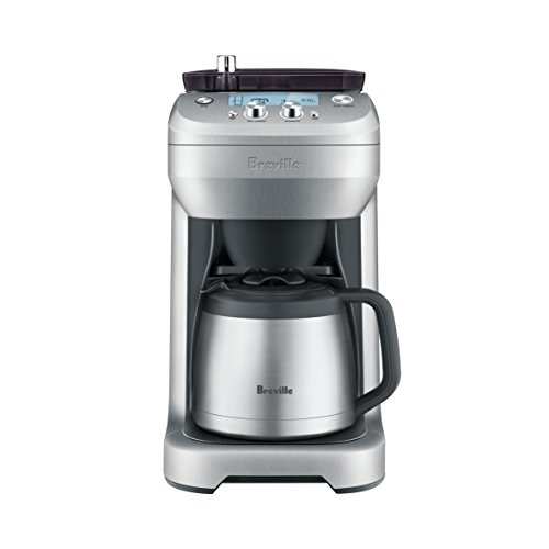 - Breville BDC650BSS Grind Control Coffee Maker, Brushed Stainless Steel