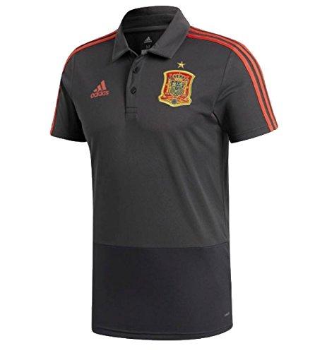 アディダス(アディダス) スペイン代表 CONDIVO18 ポロシャツ DRW69-CE8811 B07C4SCSM8 Lサイズ|CE8812グレー CE8812グレー Lサイズ