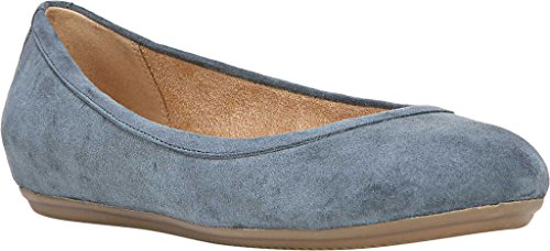 Donna Naturale Brittany Ballet Flat Lady Blu