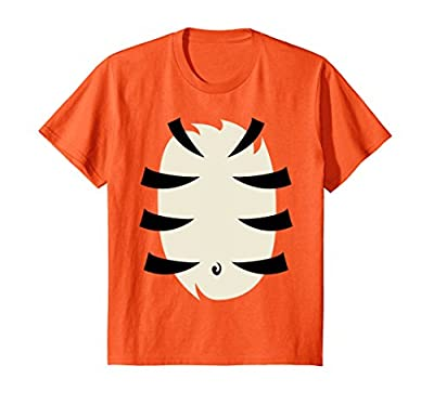 Tiger Costume Shirt Cute Halloween Gift for Kids Men Women