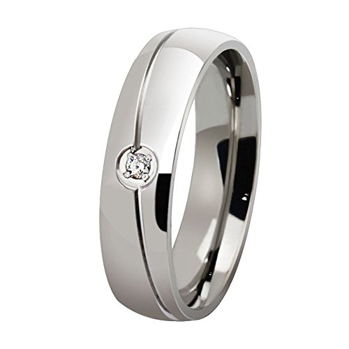 Los nuevos hombres y mujeres anillos de compromiso anillos Titanio Anillos Anillos de Boda Anillos de Compromiso Wholesale...