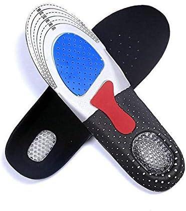[YOYO SHOW] インソール 衝撃吸収 ゲル 中敷き 土踏まず 靴クッション 足底筋膜炎 3Dデザイン 低反発 防滑 通気 防臭効果 男女兼用サイズ22.5㎝~28㎝
