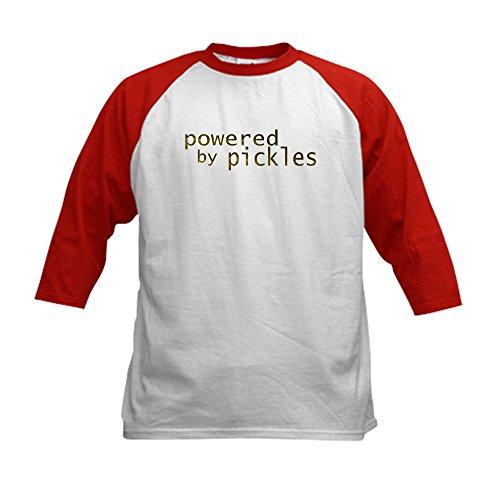 CafePress - Kids Pickle Baseball Jersey T-Shirt - Kids Cotto