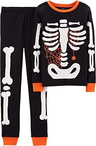 Carter's Baby Boy Girl Halloween Glow-in-The-Dark Costume Pajamas PJs (5) -