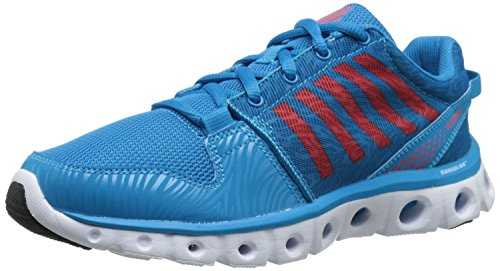 K-Swiss Women's X Lite CT CMF Training Shoe, Blue Danube/Rose Of Sharon, 7.5 M - Brothers Shoes Blues
