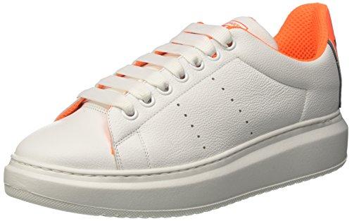 D'Acquasparta Vieri, Sneaker Uomo Bianco (Ba U100)