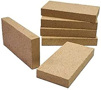 Stovax Replacement Vermiculite Fire BricksAll ModelsSideBack