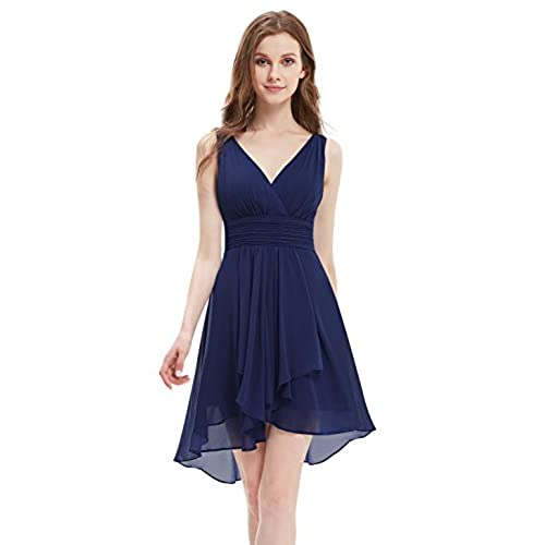 Navy Blue Dress Formal Wedding Guest: Amazon.com