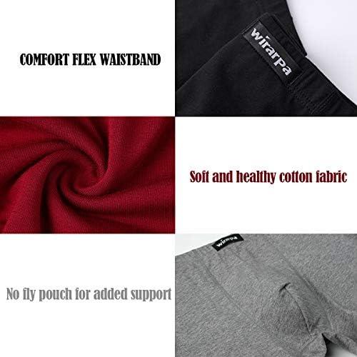 wirarpa Calzoncillos Algodón Bóxers Hombre Ropa Interior Underwear Shorts 4 Pack Tamaño XXXL: Amazon.es: Ropa y accesorios