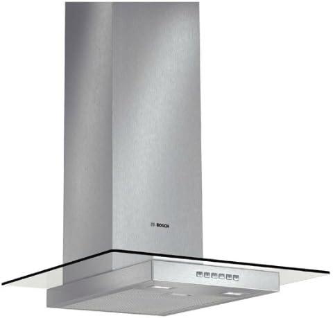 Bosch DWA067A50 - Campana (Canalizado/Recirculación, 680 m³/h, 360 m³/h, Montado en pared, LED, 828 Lux) Acero inoxidable: Amazon.es: Grandes electrodomésticos