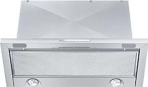 Miele DA 3460 - Campana (Canalizado/Recirculación, 400 m³/h, 280 m³/h, Incorporado, Halógeno, Acero inoxidable)