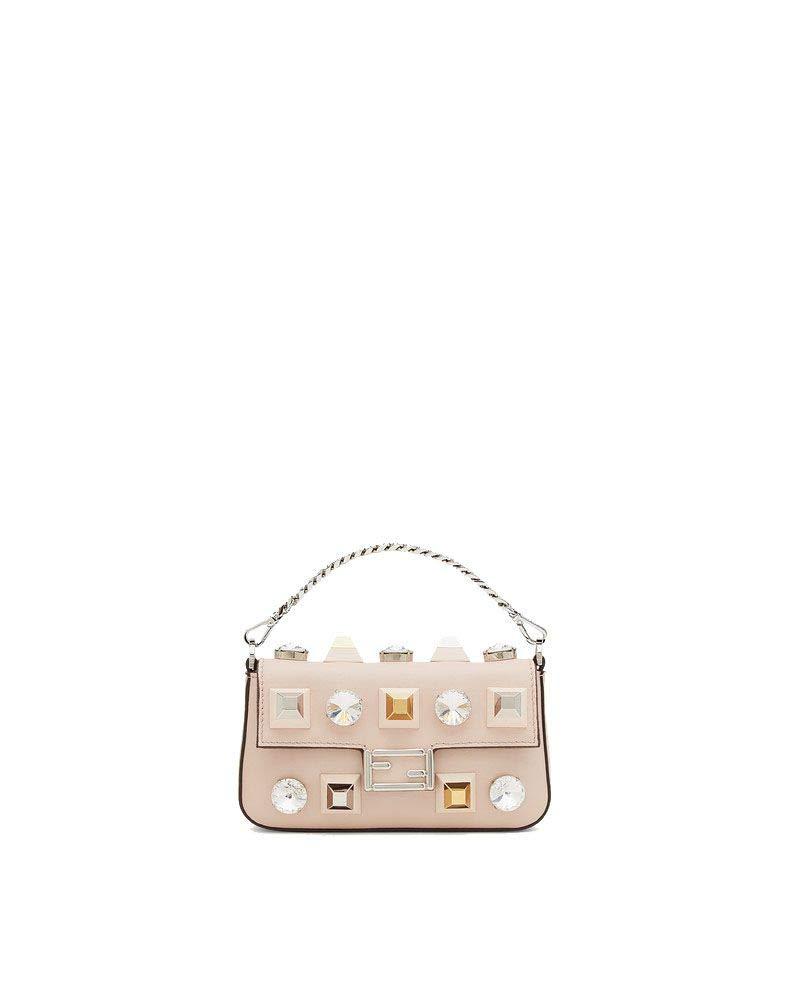 Fendi Women's 8M0354sf9f07mj-Mcf Beige Leather Handbag