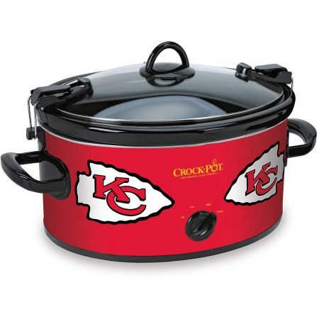 Cheap Crock-Pot NFL Slow Cooker, Kansas City Chiefs SCCPNFL600-KC