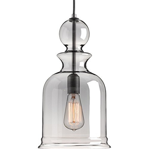 - Progress Lighting P5333-143 Staunton One-Light Pendant, Graphite