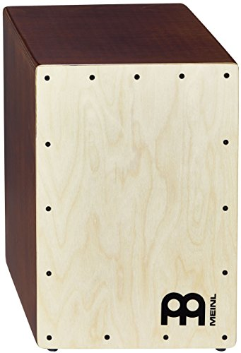 Meinl Cajon Box Drum with Internal Snares, Baltic Birch Wood Compact Size, Made In Europe 2-YEAR WARRANTY (JC50LBNT)