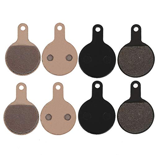 Ponis-Limos - 4 Pairs NVP-04 Bicycle Bike Cycling Resin Disc Brake Pads TEKTRO Novel A MTB Bicycle Disk Brake Pads Brake Accessories TL#8 ()