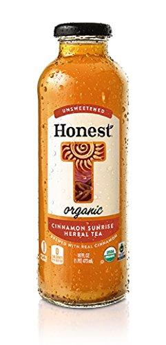Herbal Rise (Unsweetened Cinnamon Sunrise 16 oz Glass Bottle Pack of 12)