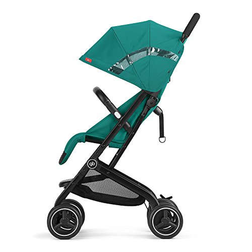 gb 2018 Buggy QBIT+ WITH Bumper Bar ''Satin Black''- from birth up to 17 kg (approx. 4 years) - GoodBaby QBIT PLUS by gb (Image #2)