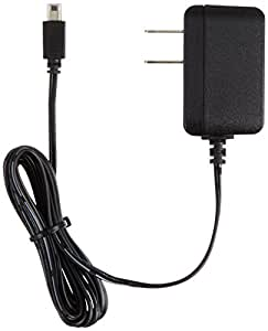 AmazonBasics AC Charger Adapter for Nintendo 3 DS XL, 3 DS, and 2 DS - 6 Foot Cable, Black