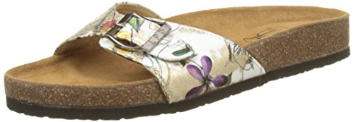 Les P'tites Bombes Opaline - Mules Mujer Blanc (Blanc)