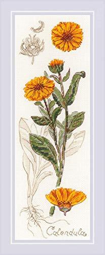 (RIOLIS 1798 - Calendula - Counted Cross Stitch Kit 3¾